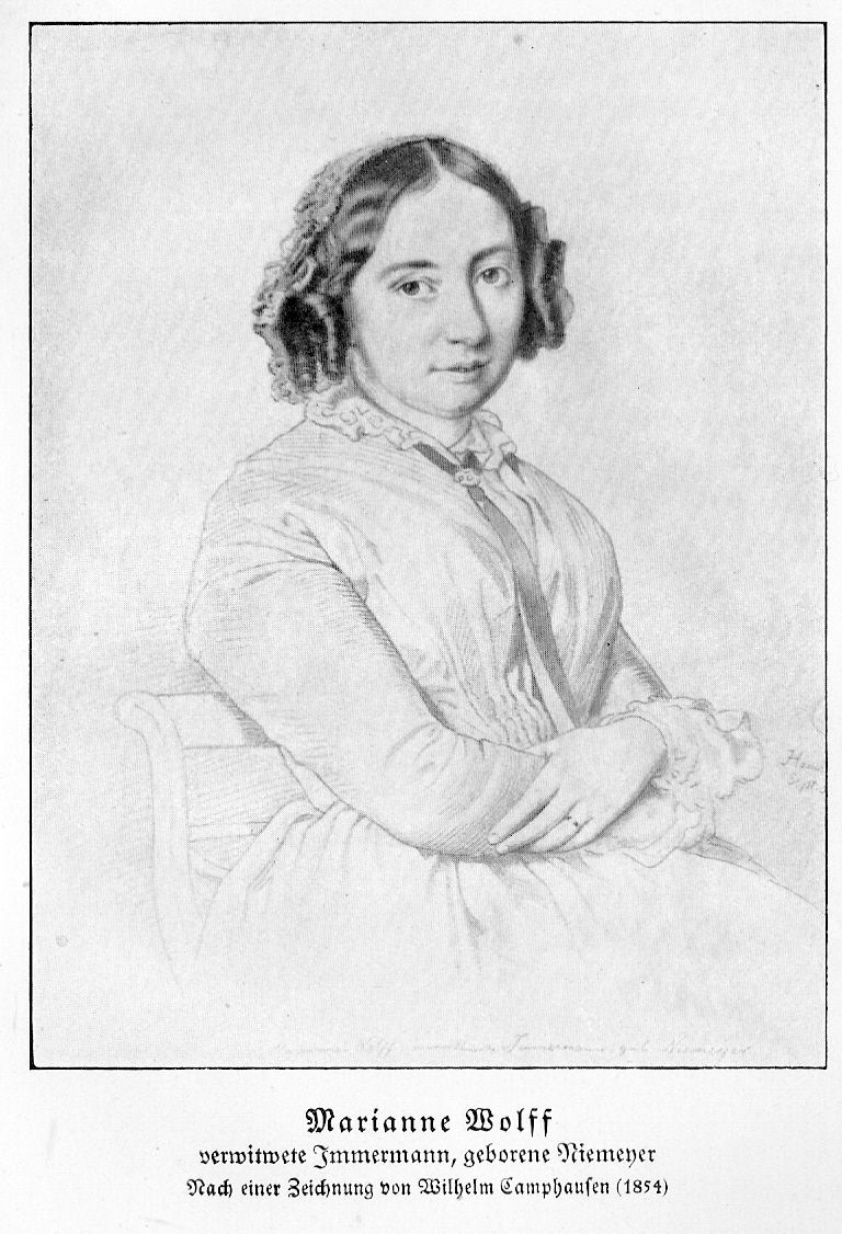 Marianne Niemeyer-Immermann-Wolff 1854